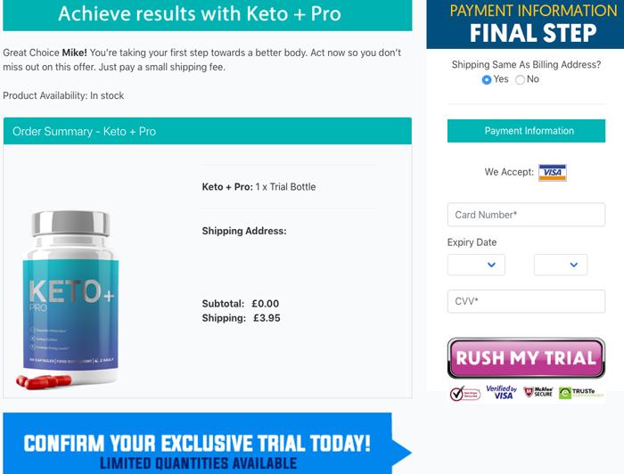buy Keto + Pro trial
