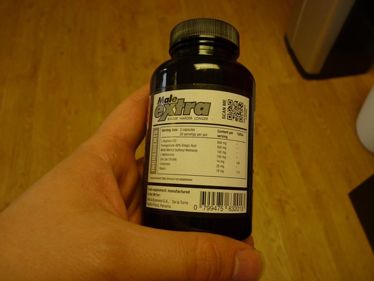 maleextra Ingredients