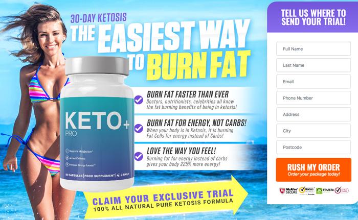 order Keto + Pro in UK