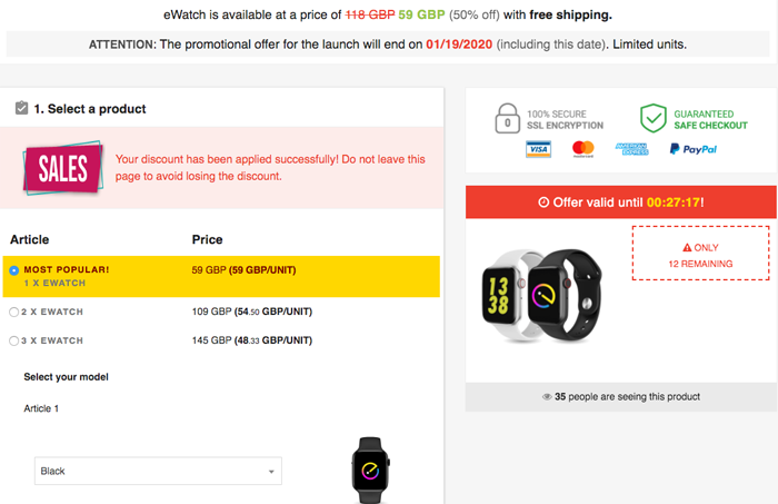 order ewatch uk